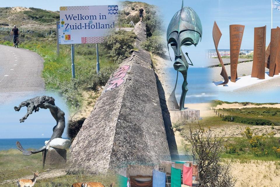 Volop kunst, natuur en geschiedenis langs het stukje Noordzeeroute tussen Zandvoort en Katwijk aan Zee.