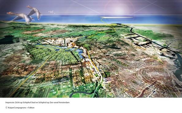 Schiphol wil serieus onderzoek naar luchthaven op zee