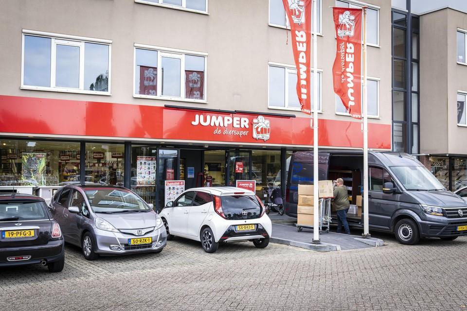 'Diersuper' Jumper aan de Zijlbaan in Leiderdorp is definitief z'n vestigingsvergunning kwijt.