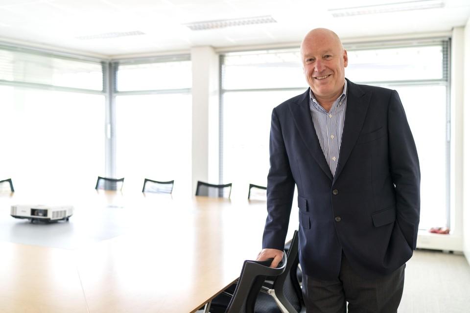 Sijmen de Vries, directeur van Pharming.