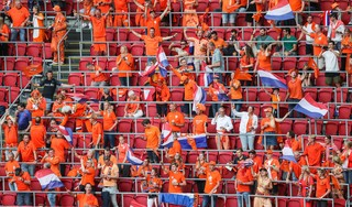 Voetbalfans in de rij voor Oranje: iedereen heeft het gemist