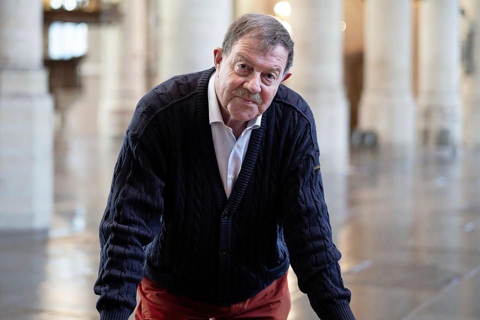 Ton Kohlbeck in de Pieterskerk waar  23 januari veertien topschakers komen spelen: ,,Hiervoor komen mensen uit het hele land.''