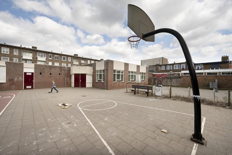 Wijkgebouw 't Zandgat aan de E.A. Borgerstraat 58 in Katwijk aan Zee.