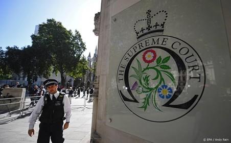 Brits hof: volgende week uitspraak schorsing
