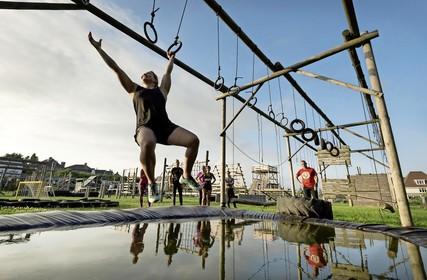 Bootcamp Houwaart Noordwijk: zelfgebouwd paradijs vol houten obstakels