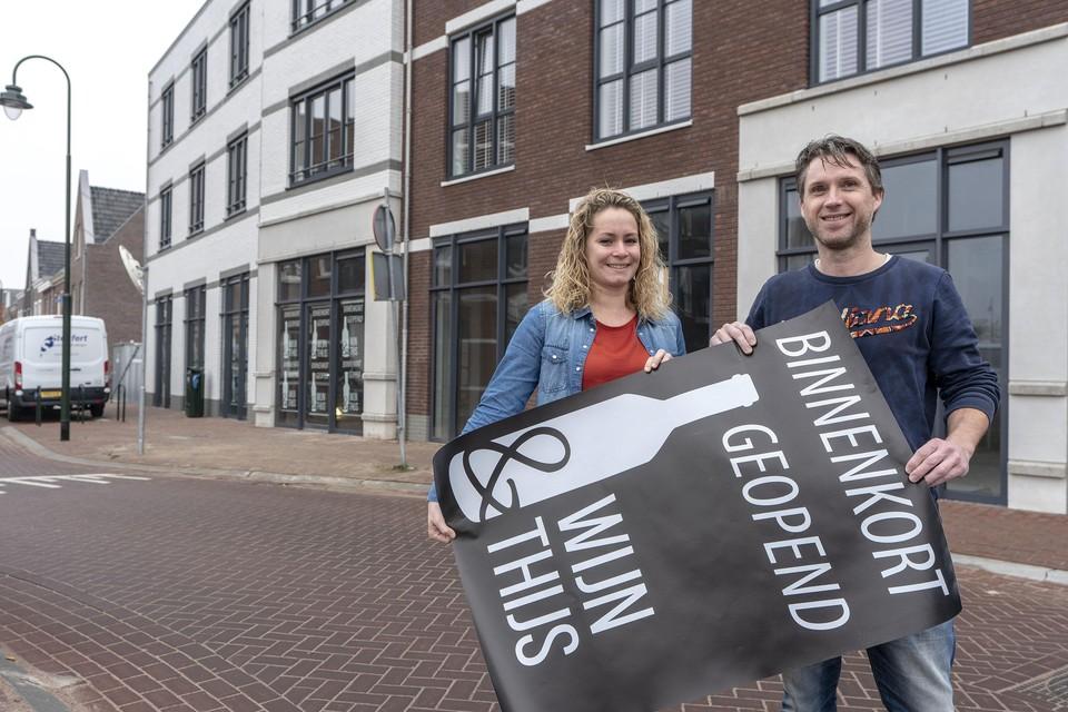 Thijs Brambach en Sanne Hillebrand