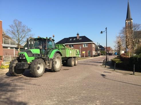 Reconstructie Dorpsstraat-west: jaar lang last van omrijden in Hazerswoude-Dorp