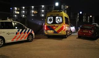 Meerdere gewonden door burenruzie in Katwijk