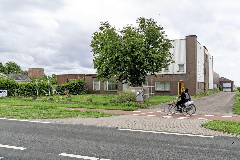 De schuur van Westerbeek aan de Teylingerlaan.