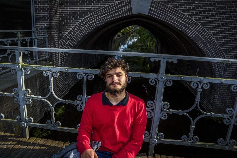 """Valentin Szántai: """"Ik dacht dat ik in Londen wel wat had meegemaakt, maar Leiden is nog erger.''"""
