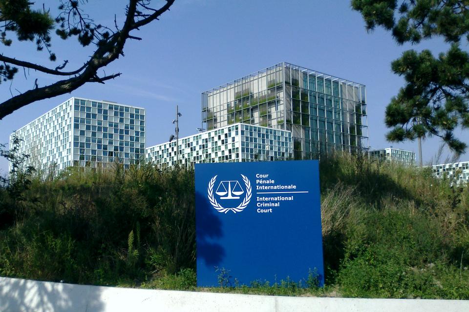 Het Internationale Gerechtshof in Den Haag.