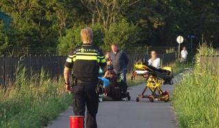 Skater valt in Noordwijkerhout en moet naar het ziekenhuis