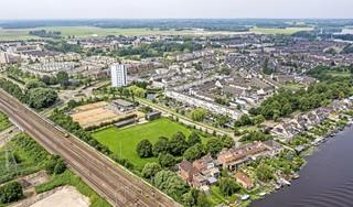 Van oude tolweg tot fonkelnieuwe snelweg ∣ luchtfoto Stevenshof