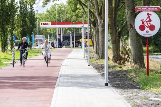 'Vergevingsgezinde' fietspaden in Leiderdorp [video]