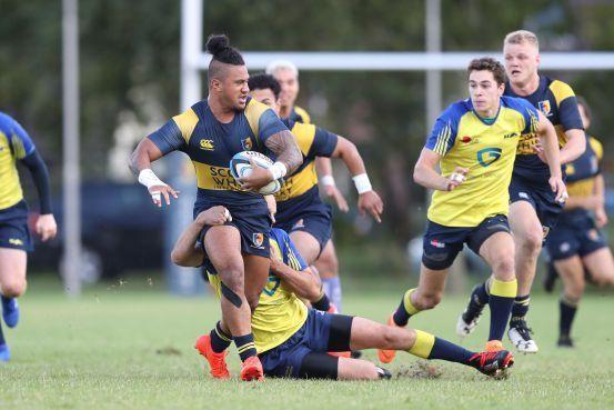 Leidse rugbyers winnen het eerste pouleduel in BeNeCup van Rugby Ottignies Club (ROC) [video]