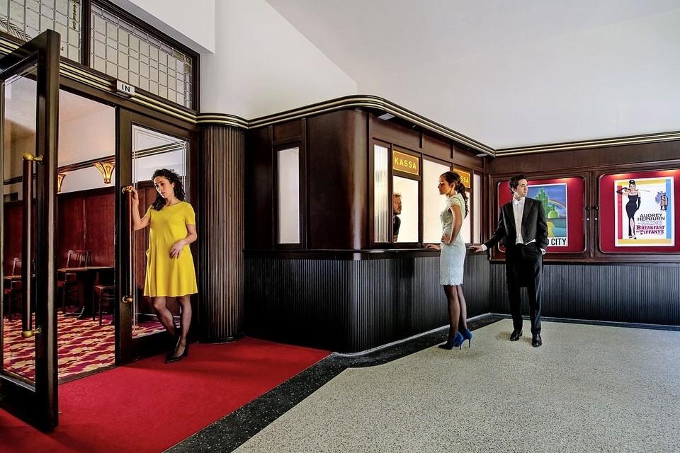 Filmtheater Trianon aan de Leidse Breestraat.