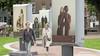 Reizende expositie met aangrijpende foto's over huiselijk geweld nu op de Leidse Garenmarkt: 'Trots dat ik er open over durfde te praten'