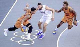 Verlies en winst voor 3x3 basketballers bij debuut op Spelen