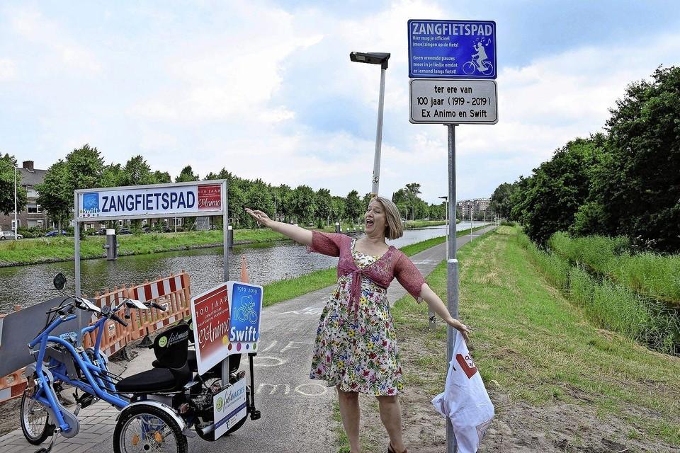 Het Leidse zangfietspad werd in 2019 geopend.