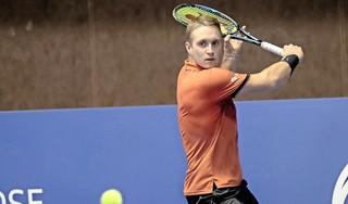 Alphense tennisser Jelle Sels komt net tekort in kwalificatie voor hoofdtoernooi in Ahoy