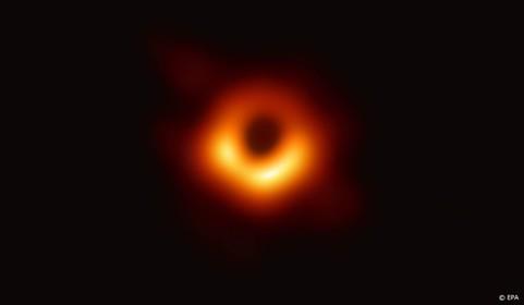 Zwarte gat in Melkweg is aan het schransen