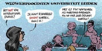 Cartoon: Wegwerpdocenten