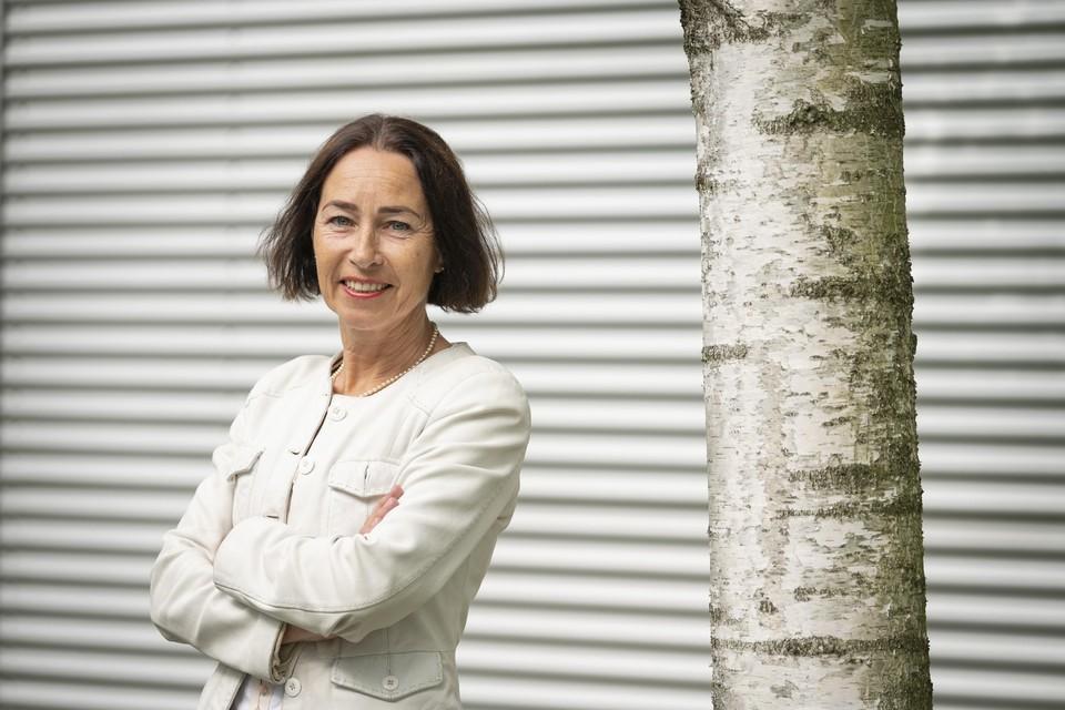 Directeur Ida Haisma van de Stichting Bio Science Park Leiden. ,,Het is mijn taak om mensen aan elkaar te koppelen.''