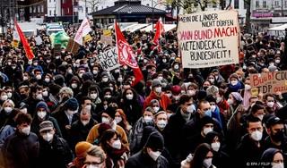 Arrestaties bij protest tegen afschaffing huurplafond Berlijn