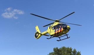 Scooterrijder ernstig gewond bij botsing met bestelbus in Hazerswoude-Rijndijk, traumahelikopter ingezet