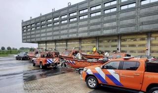 Reddingsvloot ingezet bij evacuaties in Limburg [video]