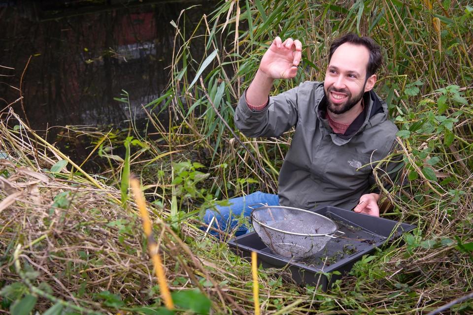 Henrik Barmentlo. Landbouwgif verandert het waterleven in de sloot.
