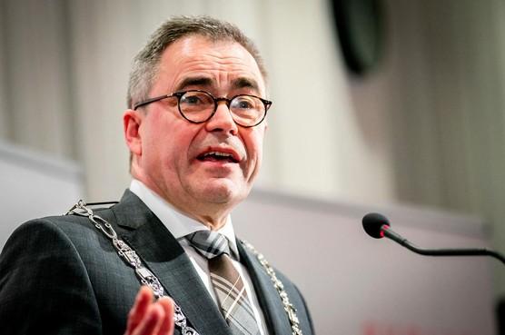 Haarlemse burgemeester Jos Wienen te gast bij CDA Teylingen