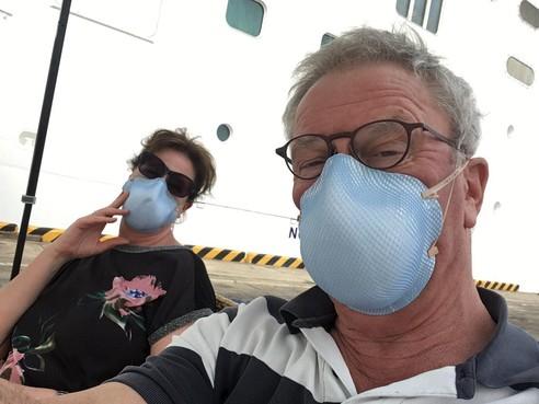 Leids echtpaar in Cambodja van cruise gezet uit angst voor coronavirus: 'Daar zaten we, in een hospitaal. Wat een zooitje'