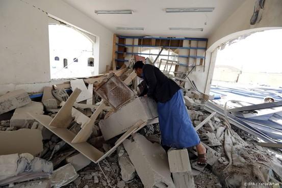 Raketaanval Houthis op Saudisch vliegveld