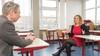 Kim van Strien, lerares Frans in Katwijk, luidt de noodklok bij kandidaat-voorzitter van de FNV