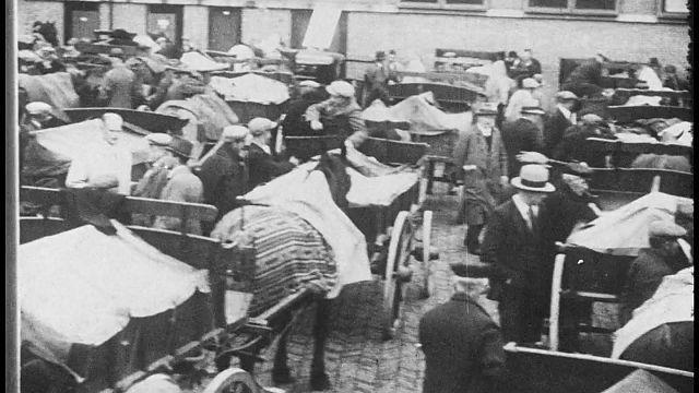 Bewegend Verleden: duizenden kazen naar de Leidse kaasmarkt [video]