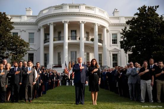 Trump en NAVO herdenken aanslagen 11 september