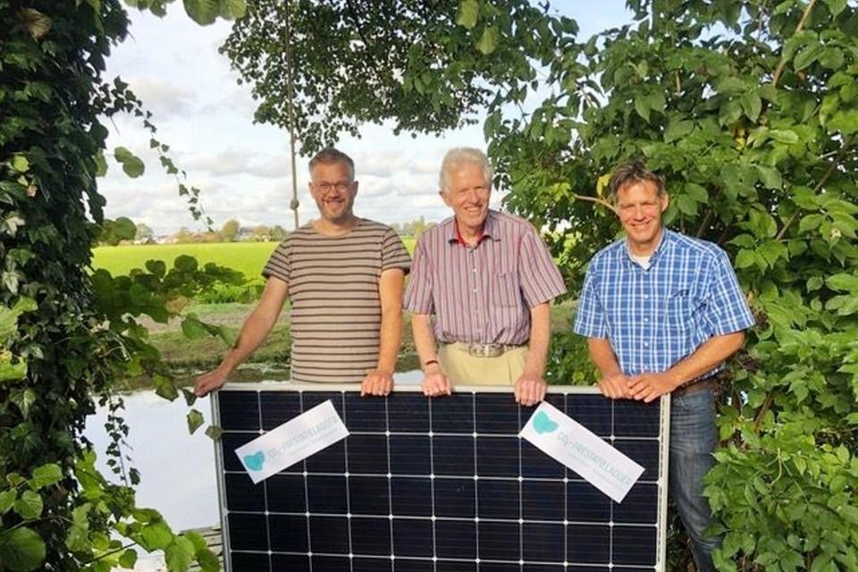Michiel van den Hoven, Bart de Jong en Paul Zwetsloot willen dat de HLT-gemeente echt wat doen minder broeikasgas.