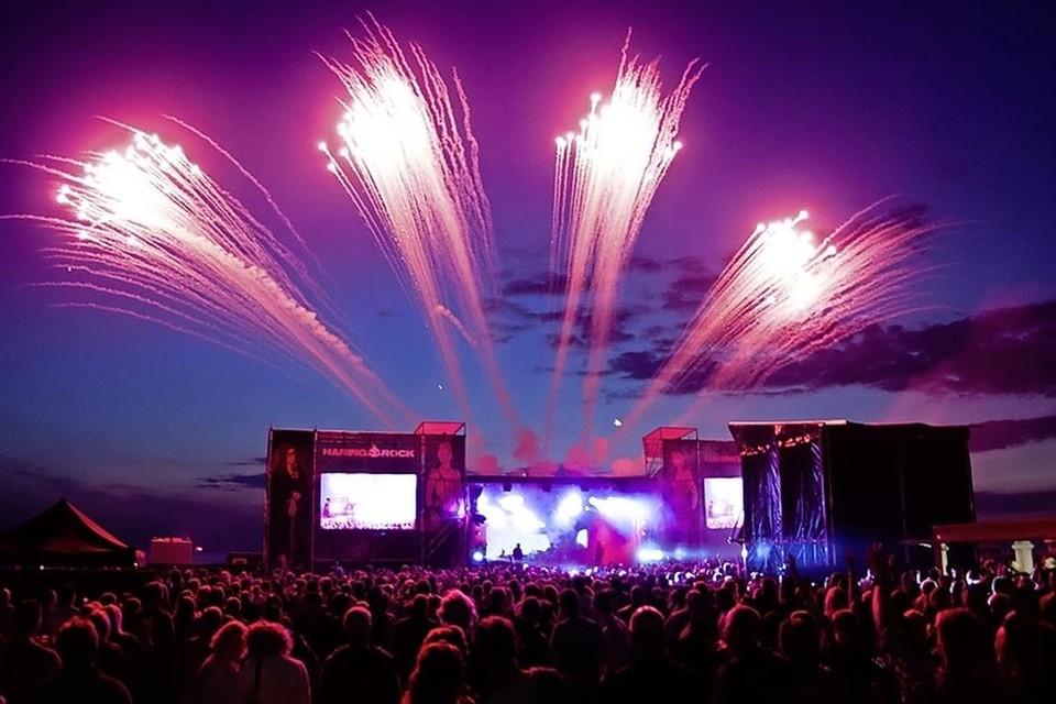 Het Haringrock-festival in betere tijden, in 2015.