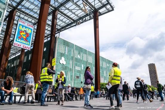 Anti-lockdowndemonstratie Eindhoven rustig verlopen