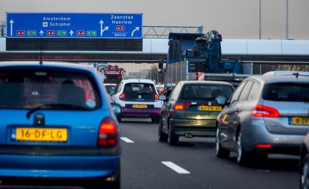 ANWB: mijd snelwegen zuidkant Amsterdam