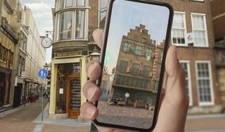 Digitaal verleden brengt Leidse geschiedenis tot leven: op smartphone animaties van verdwenen historische plekken