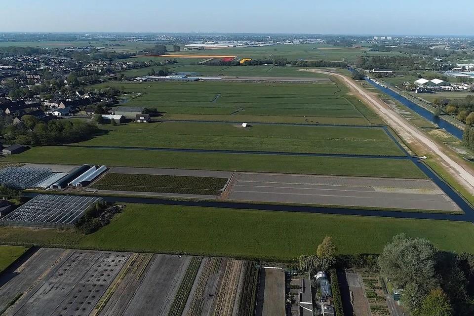Nieuw Boekhorst, waar eind volgend jaar de eerste paal moet worden geslagen.