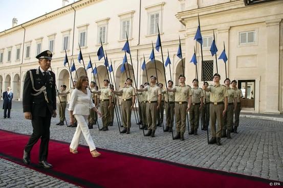 Italiaanse president begint coalitiegesprekken