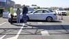 Chaos op A44 bij Oegstgeest: kettingbotsing met negen auto's, file loopt op