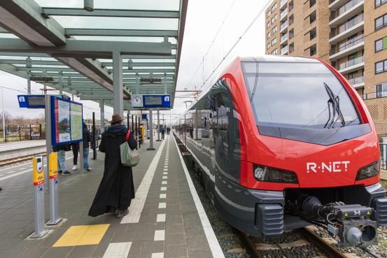 Spoorverzakking tussen Alphen-Gouda, minder treinen
