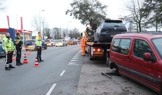 Verkeersopstopping tussen Noordwijkerhout en Voorhout door auto-ongeluk