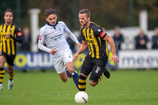 Jeffrey Jongeneelen is klaar voor derby tegen Katwijk: 'Liefst sluit ik mijn carrière bij Rijnsburgse Boys af'