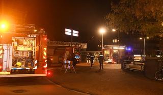 Brand in stadscafé Van der Werff in Leiden
